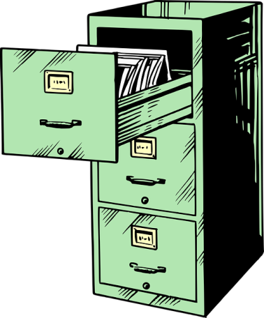 Too Difficult Filing Cabinet