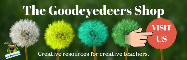 A link to The Goodeyedeers Shop at TES Resources
