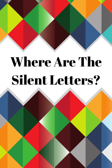 Where Ae The Silent Letters?