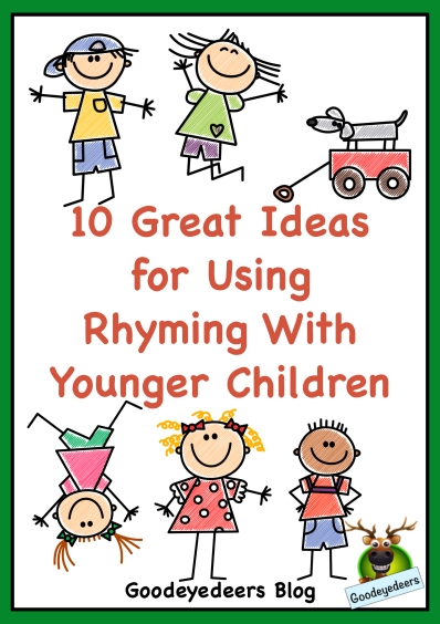 A blog post from Goodeyedeers about rhyming for beginners.