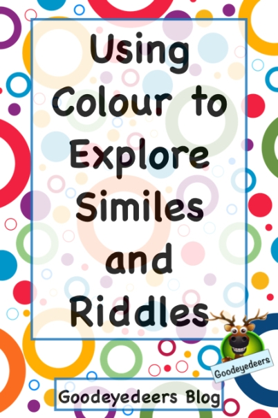 Using Colour to Explore Similes and Riddles