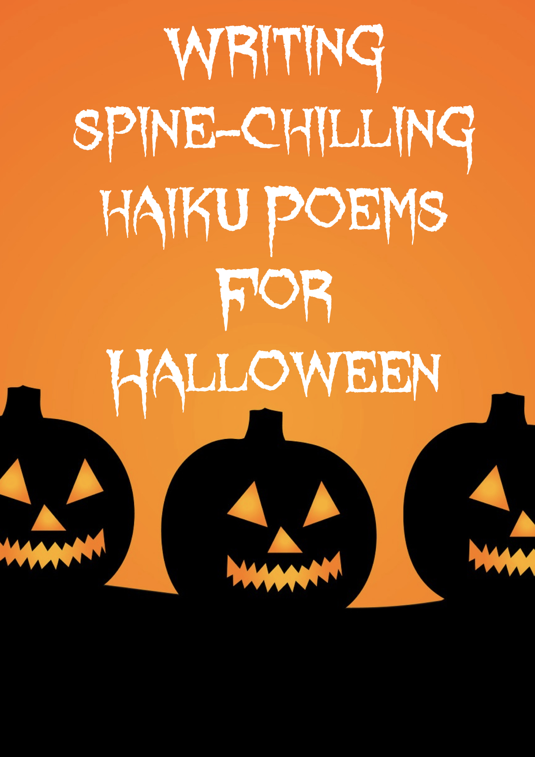 Haiku Poems for Halloween